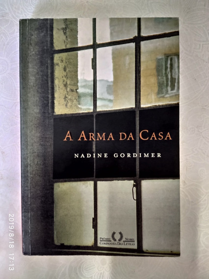 Livro - A Arma Da Casa