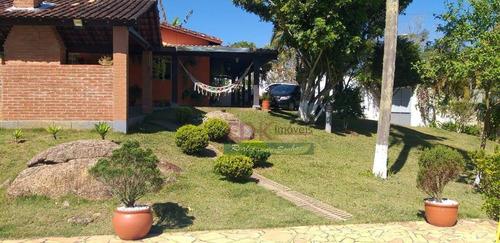 Imagem 1 de 17 de Chácara Com 3 Dormitórios À Venda, 1200 M² Por R$ 450.000,00 - Centro - Biritiba Mirim/sp - Ch0435