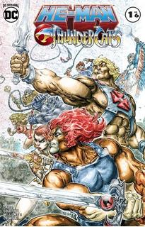 Comic Dc He-man / Thundercats # 1 Carton Y Bolsita!
