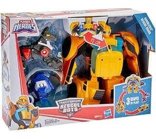 Ransformers Bumblebee Guardia D Rescate Luz-sonido