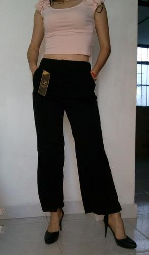 Pantalon Tiro Alto Bota Ancha Para Dama Mercado Libre