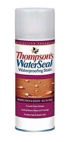 Thompsons Waterseal Impermeabilización De Madera A Las Manch
