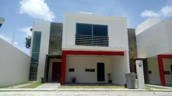 Casa En Condominio En Renta En Villa Palmeras, Carmen, Campeche