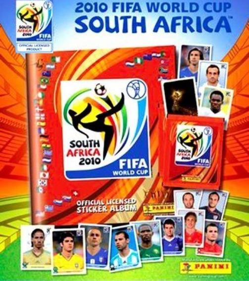 Figurinhas Copa Do Mundo África 2010. Preço De 10 Figurinhas
