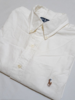 Camisa Polo Ralph Lauren Oxford Mate Original Talle 2xl