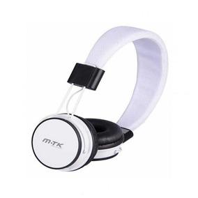 Headphone Bluetooth Mtk K3559 Branco