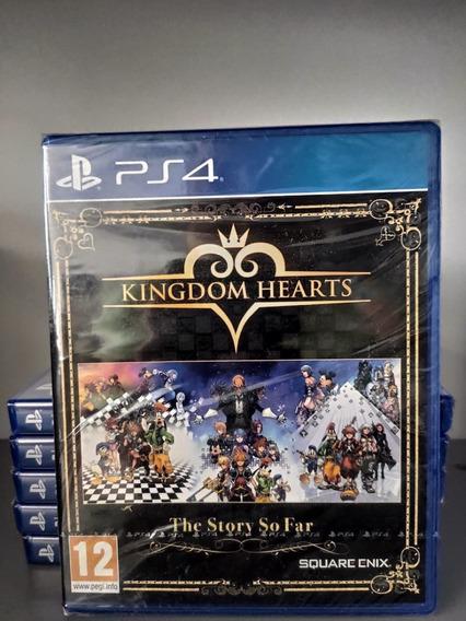 Kingdom Hearts The Story So Far Ps4 Mídia Física Lacrado