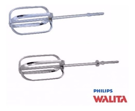 Batedor Esquerdo + Direito Batedeira Philips Walita Ri7000