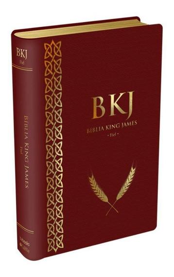 Bíblia Evangélica King James Texto Fiel Letra Média Luxo