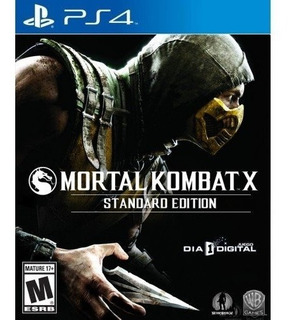 Mortal Kombat X Ps4 Juego Digital