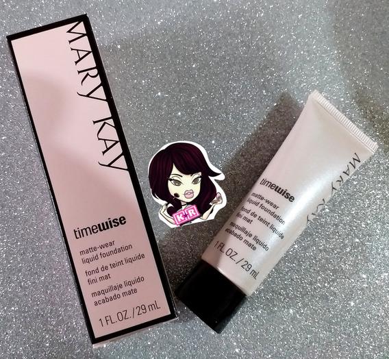 Maquillaje Liquido Timewise Mary Kay Mate Ultimas Piezas!! Pregunta Tono Antes De Ofertar