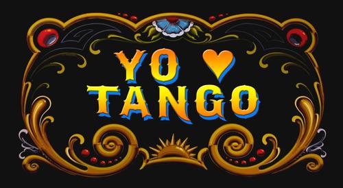Chapa Retro Vintage Filete - Tango - 25 X 15 Cm