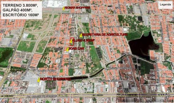 Galpão Para Alugar, 581 M² Por R$ 7.000,00/mês - São Gerardo - Fortaleza/ce - Ga0012