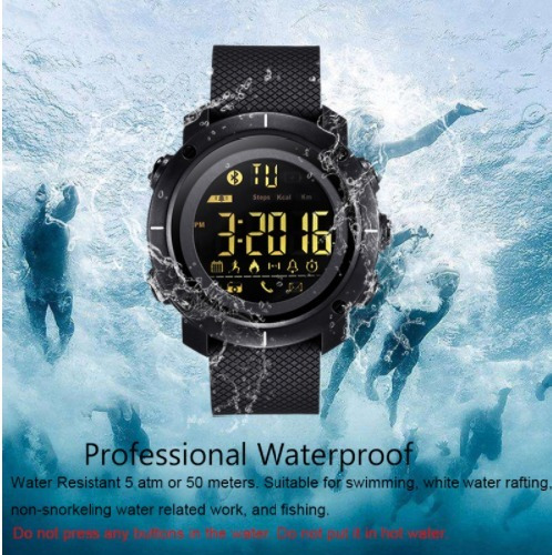 Relógio Inteligente Digital Lemfo Com Retroiluminação Led