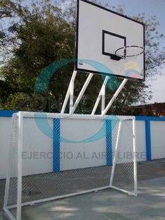 Arcos De Indor Con Tablero De Basquet