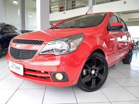 Chevrolet Agile 1.4 Mpfi Ltz 8v 2013 Vermelha Flex