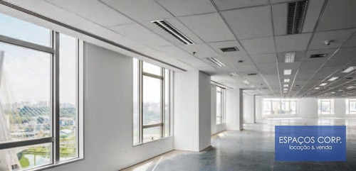 Imagem 1 de 8 de Laje Corporativa Para Alugar, 596m² - Brooklin - São Paulo/sp - Lj0670