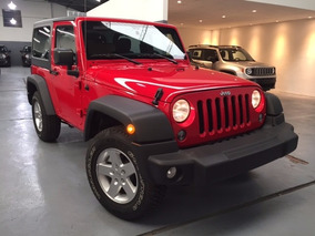 Jeep Wrangler Sport 3.6 At5 2 Puertas Color Negro