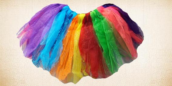 Tutus Niña Y Mujer En Dif Colores, Halloween, Primavera, Etc