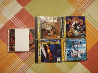 Sega Saturno Lote 5 Juegos