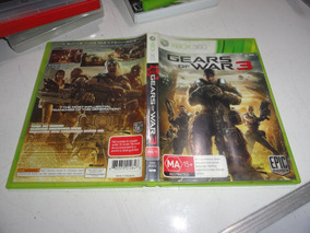Gears Of War 3 Xbox 360 Midia Fisica Original Pal Europa