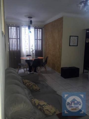 Apartamento Com 2 Dormitórios À Venda, 87 M² Por R$ 302.000,00 - Vila Matias - Santos/sp - Ap5783