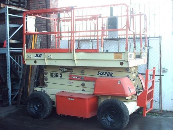 Plataforma Elevador Tijera JLG Eleva 12 Mts Electrica