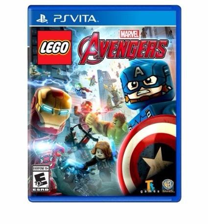 Jogo Novo Lacrado Lego Vingadores Marvel Avengers Ps Vita
