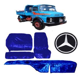 Capa De Banco E Painel Chinil Caminhão Mercedes Benz 1113