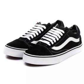 Tênis Vans Old Skool Clássico Preto E Branco