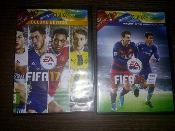 Jogo Xbox 360 Fifa 16,17