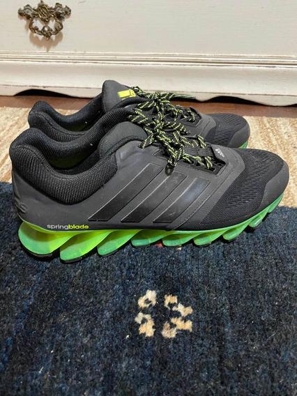 Tênis adidas Springblade Verde/preto N40 - Perfeito Estado