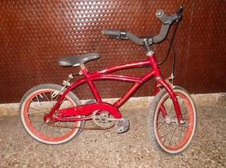 Bicicleta Playera De Niño Rodado 14 Marca Lusitana