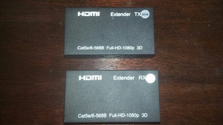 Expansor Hdmi 60 Mts. Utp Red Con Fuente