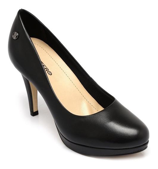 Sapato Bottero Couro Tanino Preto 289801