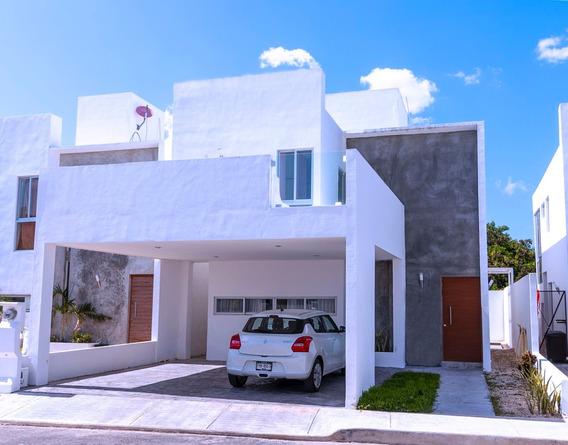 Casa En Venta En Chuburna Merida De 4 Habits.