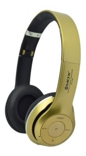 Fone Headphone Mox Mo-f899 Bluetooth/tf Card - Dourado