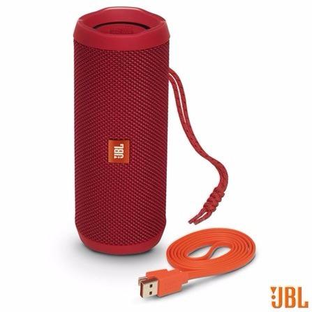 Jbl Flip 4 Bluetooth Speaker Original Vermelha Nova Lacrada