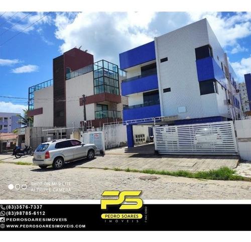 Imagem 1 de 9 de Apartamento Com 3 Dormitórios À Venda, 70 M² Por R$ 270.000,00 - Bessa - João Pessoa/pb - Ap5157