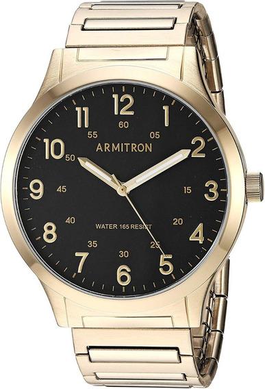 Armitron Hombre 20/5310bkgp Reloj Metal Y Acero Inoxidable