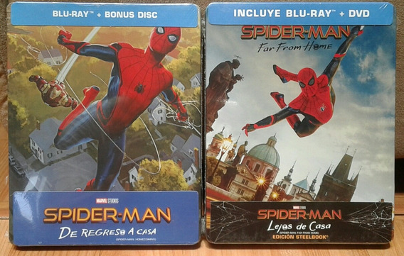 Steelbook Spider-man Homecoming Y Far From Home