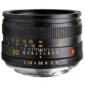 Objetiva Leica Summicron-r 50mm F/2 - Usada