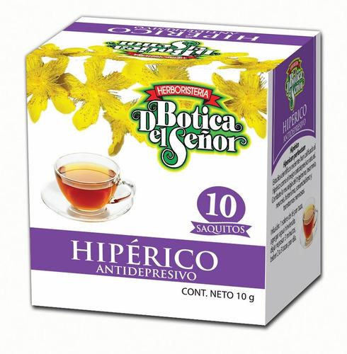 Té De Hipérico Botica Del Señor 10 Saquitos