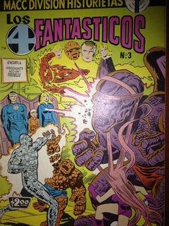 Comic Vintage Los 4 Fantasticos #3 Macc Division No Prensa