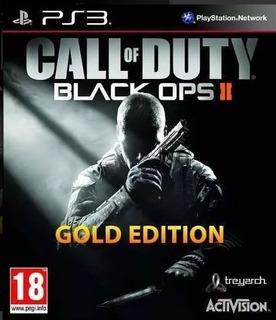 Call Of Duty Black Ops 2 Edicion Oro Ps3 Original Play Perú