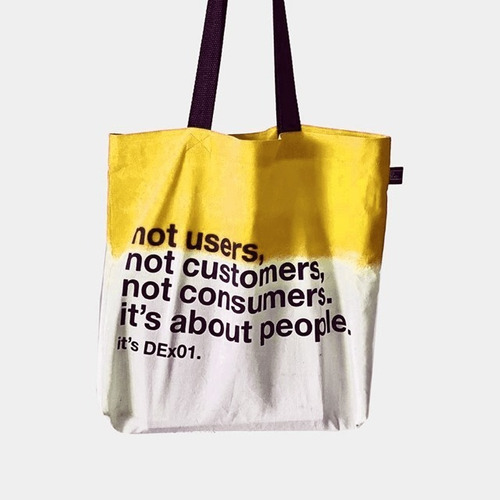 Ecobag It's About People ( Yellow )