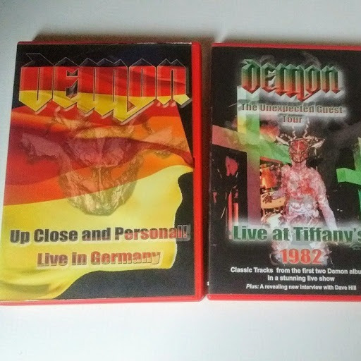 Demon Up Close And Personal! /live At Tiffany´s Dvd