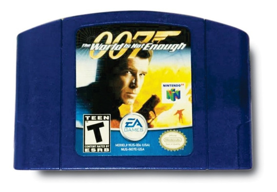 007 The World Is Not Enough Nintendo 64 + Brinde