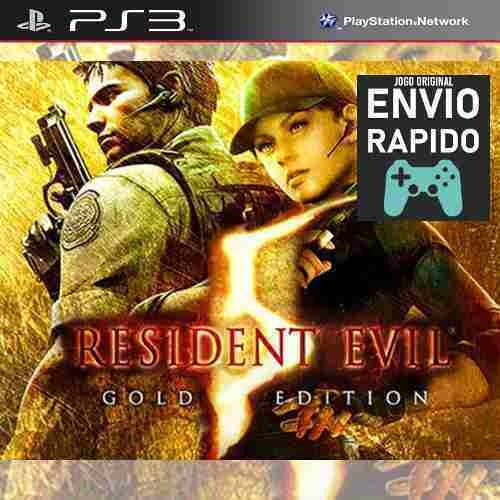 Resident Evil Resident Evil 5 Gold Jogos Ps3 Original