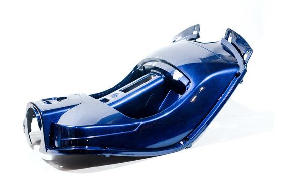 Protector De Piernas Azul Zanella Styler 150 Exclusive Z3 (